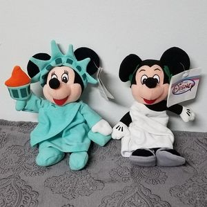 😍 Vintage New York Minnie and Toga Roman Mickey